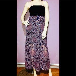 XHILARATION • Strapless Maxi Dress / (S) NWOT!!